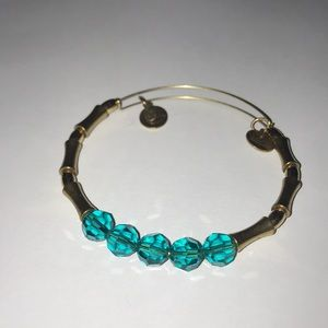 Alex & Ani Turquoise Bead Bracelet